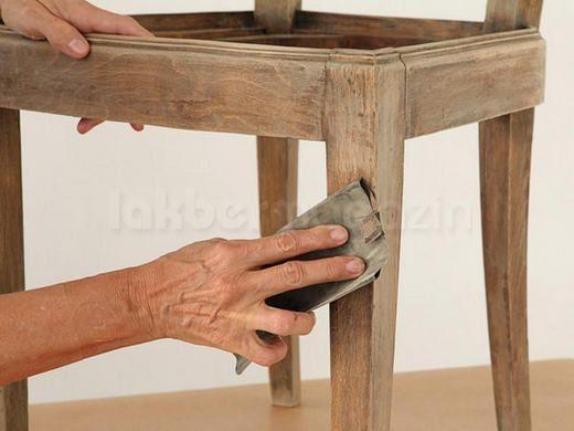 Csináld magad - Szék felújítása - lomtalanítás helyett - öreg bútorból trendi újat