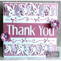 Die'sire Fancy Edge'ables Card Creations 9