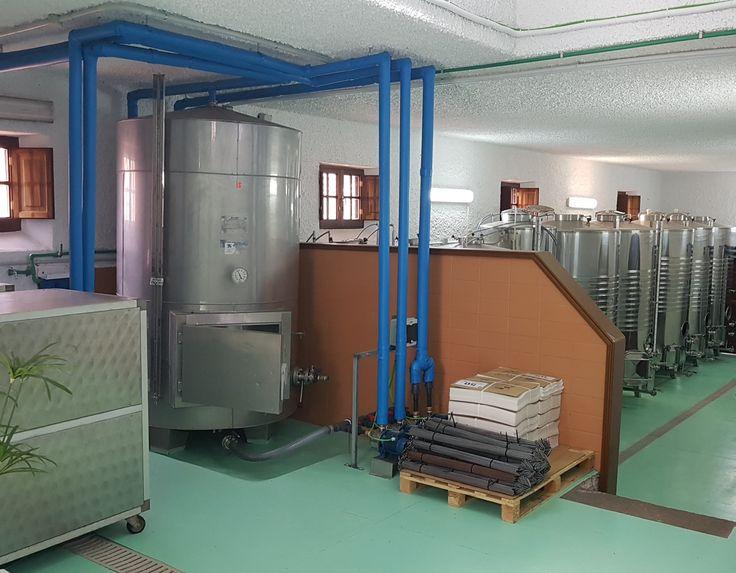 Instalación de frío en Bodegas Tagoror (El Sauzal - Tenerife)