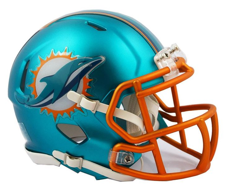 Pin By Renee Silvernail On Miami Dolphins Football Helmets Mini Football Helmet 32 Nfl Teams
