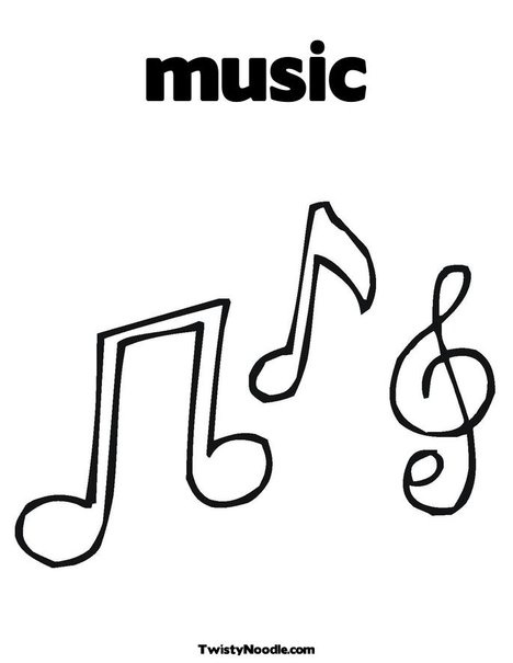1000 images about kids choir on pinterest coloring for Musical notes coloring pages