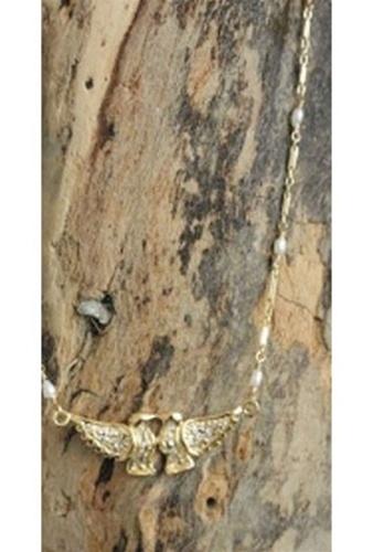 Natalie B Love Bird Kissing Necklace