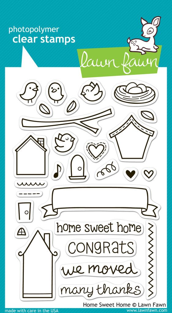 home sweet home | Lawn Fawn