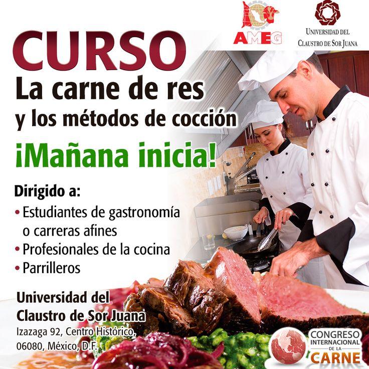 Mañana inicia el curso: La carne de res y los métodos de cocción.