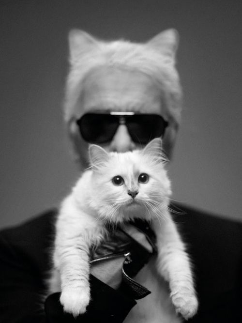 Karl and Choupette