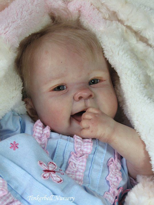 "Adorable... ""Just in case you didn't know...this is a reborn doll...Remarkable..."" Connie"