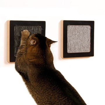 16 best images about cat ideas on pinterest cats ikea hacks and cat shelves - Modern cat scratcher ...