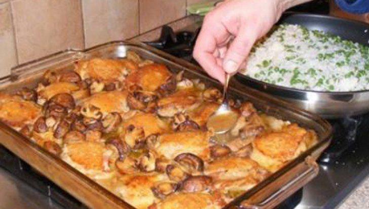 Aşa faci cele mai bune pulpe de pui la cuptor, în 30 de minute! Ingredientul care face diferenţa