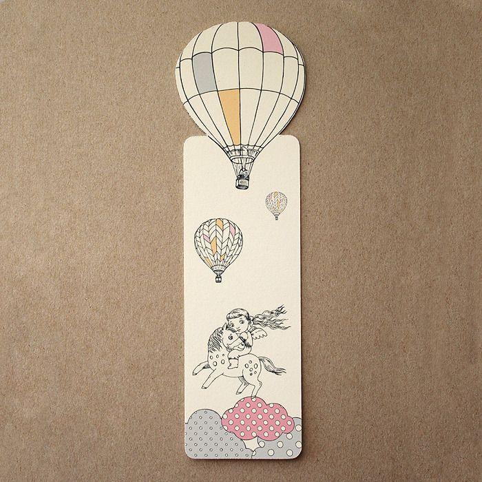 Marque-page ballon