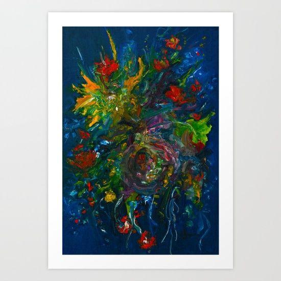 Blooms+Art+Print+by+Evie+Dee+-+$20.00