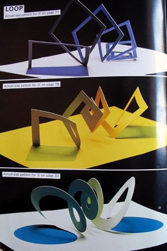 Pop-up Geometric Origami - 1994 | Flickr - Photo Sharing!