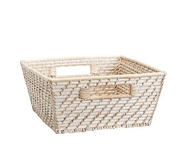 Quinn White Washed Baskets #pbkids 39-59