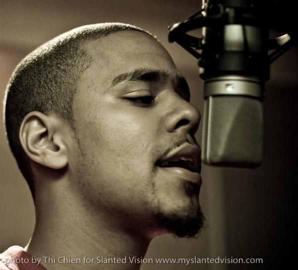 J. Cole <3. Honestly one of the realest and most lyrical rappers out there. Plus he's adorable   ;)