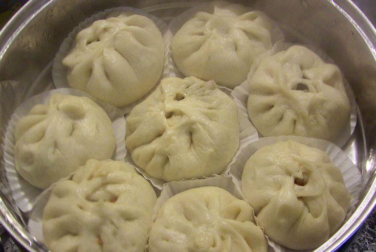 PyeongChang 2018 :: Winter Olympics Party :: Food - Steamed pork buns (Jjinppang-mandu) recipe - Maangchi.com