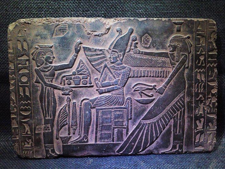 ANCIENT EGYPT EGYPTIAN ANTIQUE Resurrection Of Osiris Stela Relief 2686–2181 BCE