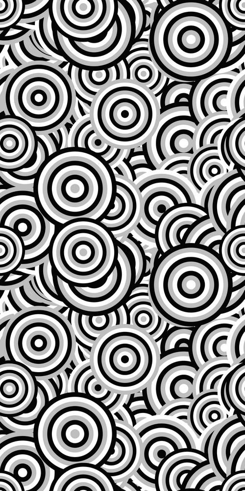 Abstract seamless circle pattern background design color