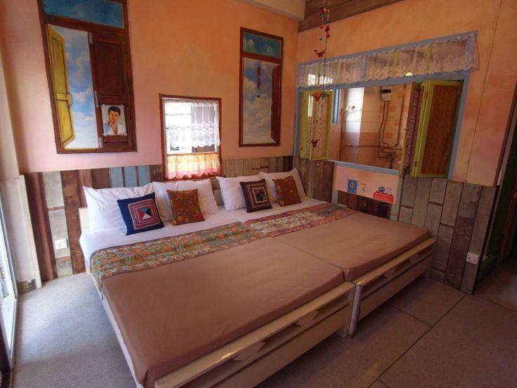13 best family bedroom images on pinterest bedroom bedrooms and family bed Master bedroom with two full beds