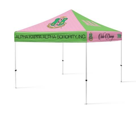 AKA Sorority Portable Canopy Tent Sorority Greek Tent - Designs by Deeu0027s Hands - 2  sc 1 st  Pinterest & Best 25+ Portable canopy ideas on Pinterest | Garden ideas designs ...