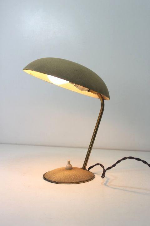 abat-Jour anni 60  Lampada/60 s light/mid century table lights/Stilnovo Italy G