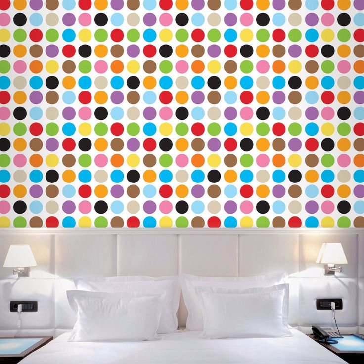 "French Bull 2.17' x 26"" Polka Dot Wallpaper"
