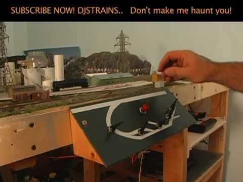 ▶ Model Railroad Control Panel, Wiring a KATO Switch, and Train Layout Room Ideas - YouTube