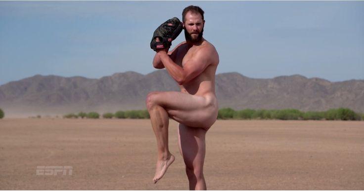 Jake Arietta Pitching Naked