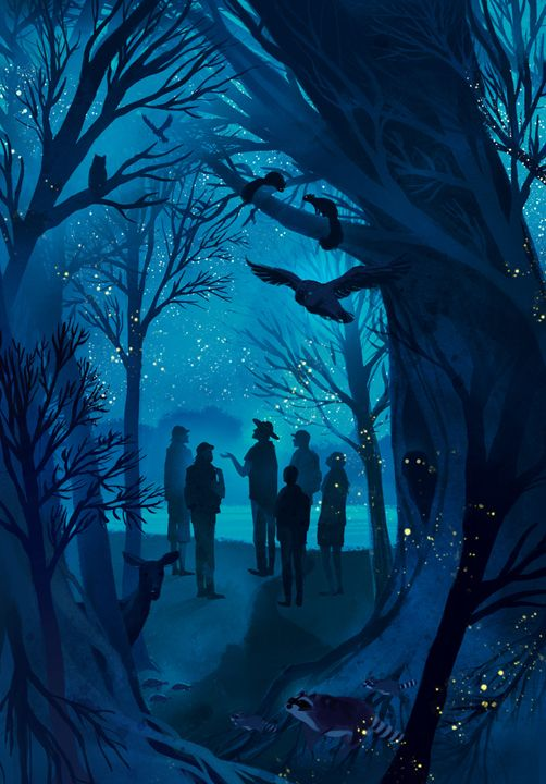 ...and on this night, this very magical night...special things happen. Cory Godbey. http://lightnightrains.blogspot.com/