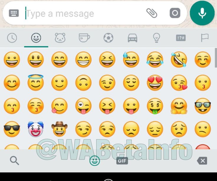 (@WABetaInfo) WhatsApp beta for Android brings new design for emojis