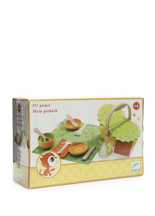Ahşap, piknik temalı Djeco oyuncak. 4 yaş ve üzeri için uygundur