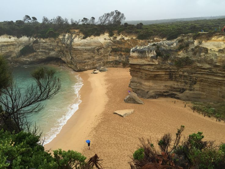 The Loch Ard Gorge, Port Campbell National Park, Victoria, Australia.