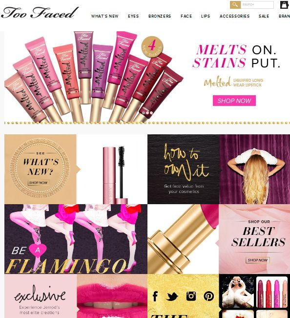 Toofaced.com latest Coupons and Deals http://goo.gl/2AMG8U
