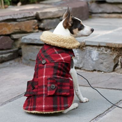 Plaid Dog Coat, Size 10 - The Company Store  #The_Company_Store #Pet_Products