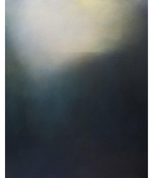 Near Night (Ocean Grove), original abstract seascape painting - acrylic on canvas 100x80cm, by Tina Mammoser £1600 #art #painting #sea #painter
