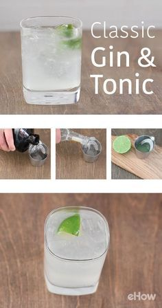 If you're an old-school kind of cat who appreciates a well-made classic cocktail, this gin and tonic recipe is for you! Seriously, it's simplicity at its finest. http://www.ehow.com/how_2001120_make-gin-tonic.html?utm_source=pinterest.com&utm_medium=referral&utm_content=freestyle&utm_campaign=fanpage