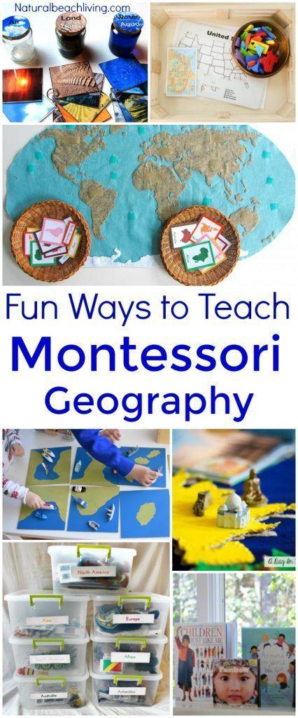 20 Ways to Teach Montessori Geography Kids Will Love