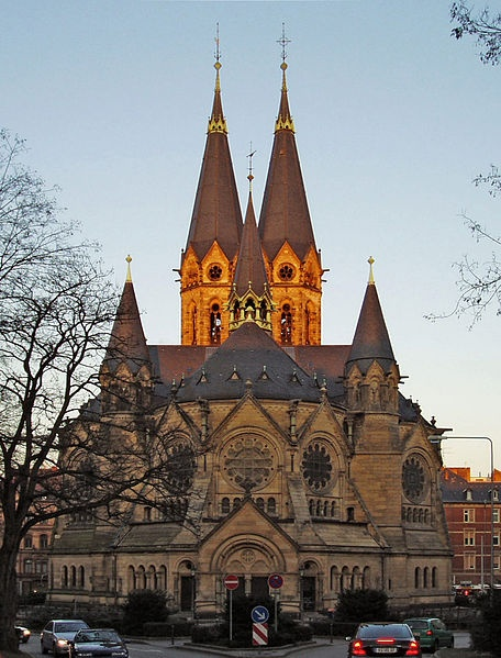 Ringkirche Wiesbaden.  I used to live just up the road from the Ringkirche