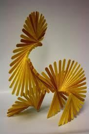popsicle stick sculpture - Google Search