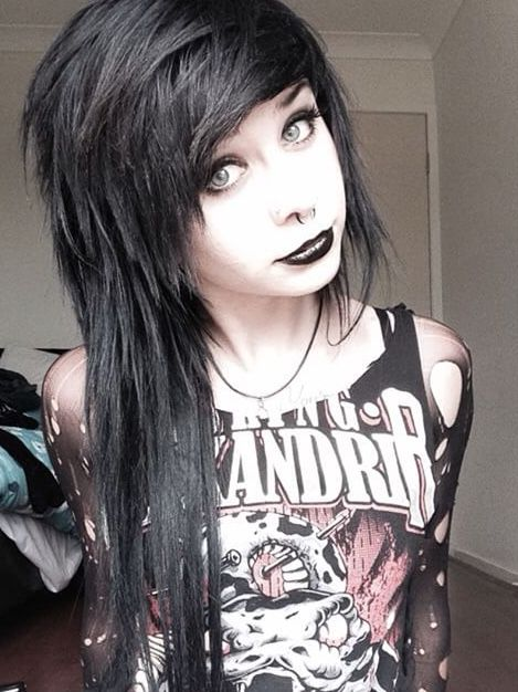 Why Would You Ruin An Asking Alexandria Shirt I Mean I