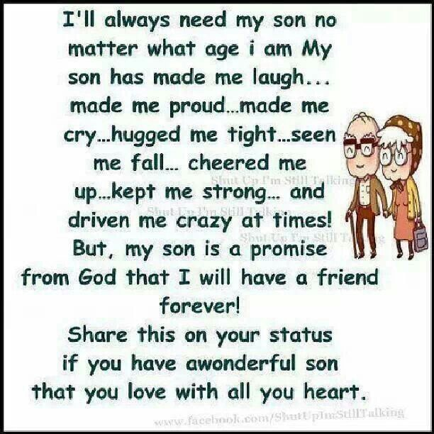 Quotes About Your Son: I Love My Son Quotes. QuotesGram