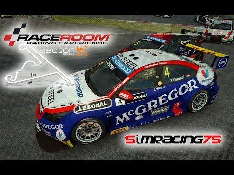 R3E: Tom Coronel's Roal Chevrolet Cruze @ Shanghai - WTCC layout - YouTube