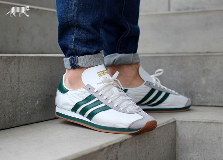 adidas Country OG (Vintage White / Collegiate Green / Light Granite)