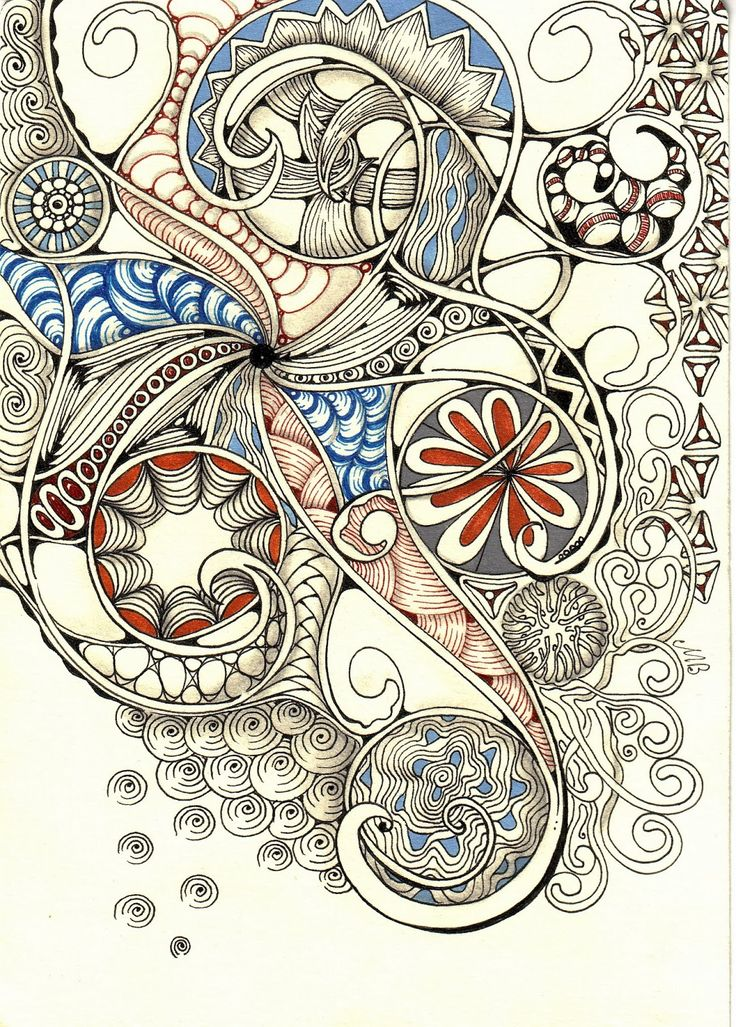 Shelly Beauch, Australia, is probably my favorite zentangle artist. her spirals and loops are beyond amazing!