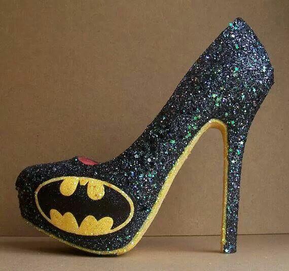 Batman heels! Want!!