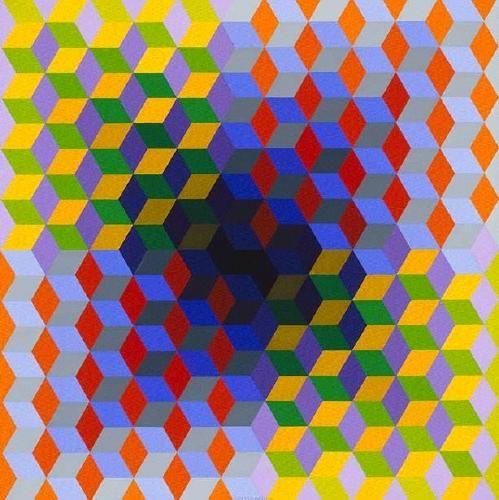 Victor Vasarely  - Yon 1969