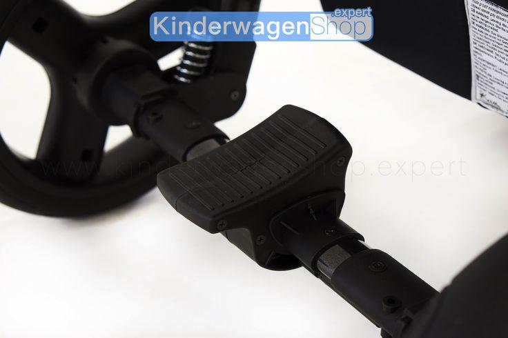VOLQ Kombikinderwagen 3in1 - die Zentralbremse http://kinderwagenshop.expert/VOLQ-3in1-Kombikinderwagen_6 #VOLQ #Kombikinderwagen #Kinderwagen #3in1 #Kinderwagenshopexpert