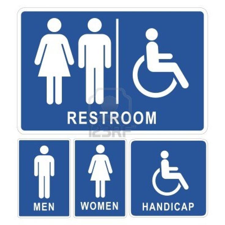 Bathroom Sign Vector Alluring Design Inspiration
