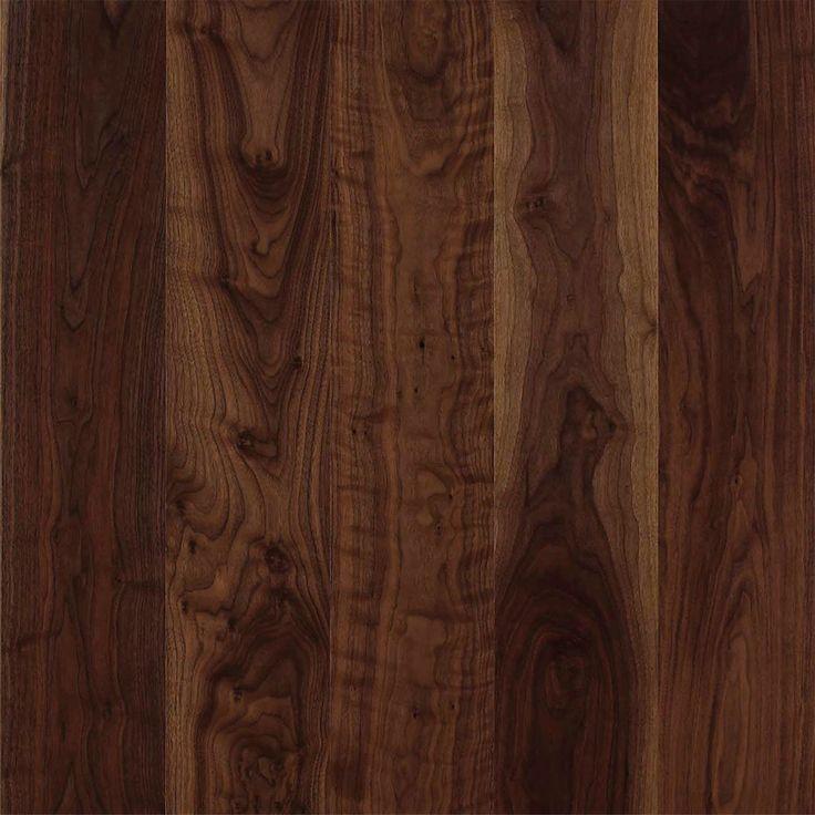 Mörkt trägolv