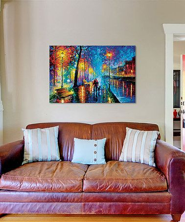 Love this Leonid Afremov Melody of the Night Gallery-Wrapped Canvas on #zulily! #zulilyfinds