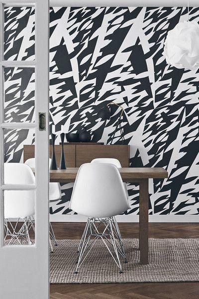 Delfinisk Rorelse Wallpaper by Scandinavian Designers - Axel Pehrson