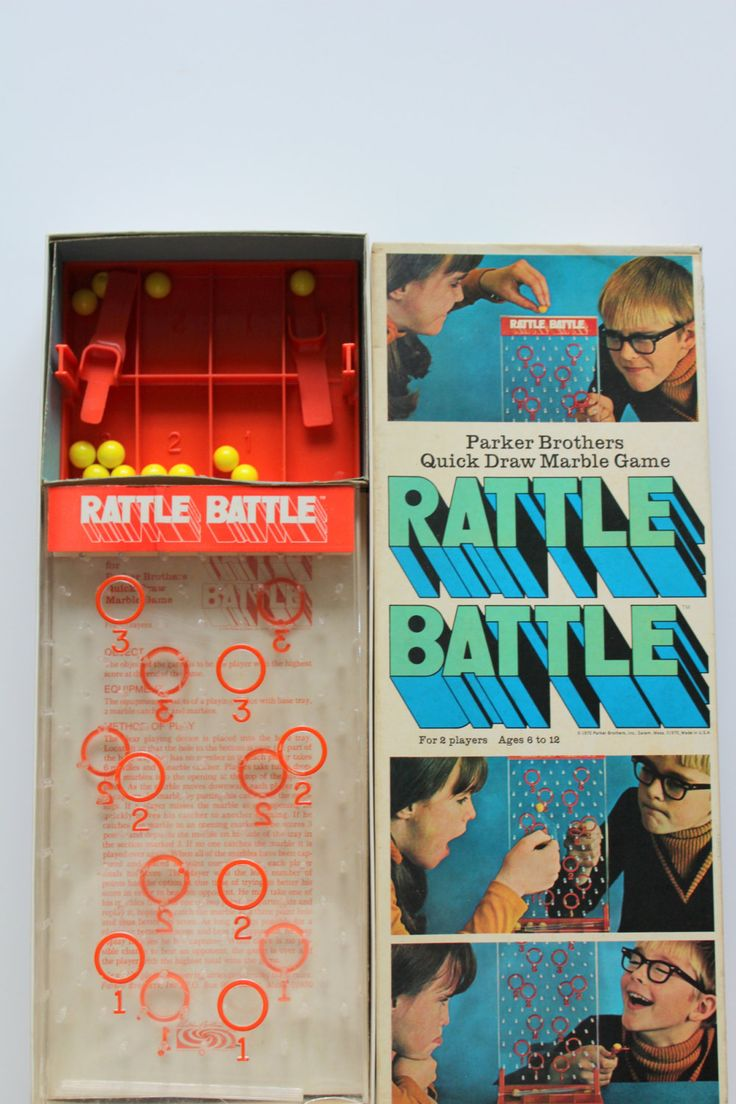 Vintage Rattle Battle Game 1970 by WylieOwlVintage on Etsy